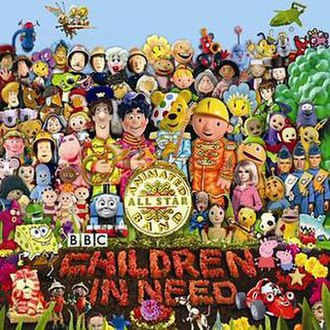 The Official BBC Children in Need Medley - Image: Peter Kay Medley 2009