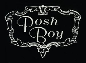 Posh Boy Records - Image: Posh Boy logo