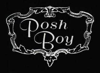 Posh Boy Records - Image: Posh Boy logo
