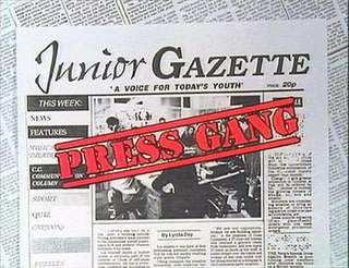 <i>Press Gang</i> British childrens television series (1989–1993)