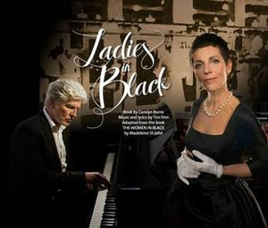Ladies in Black - Promotional image featuring Tim Finn (left) and Christen O'Leary (right)