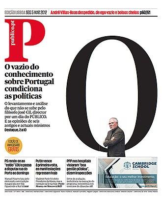 Público (Portugal) - Image: Publico 20071227