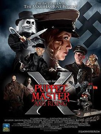 Puppet Master X: Axis Rising - Puppet Master X theatrical poster