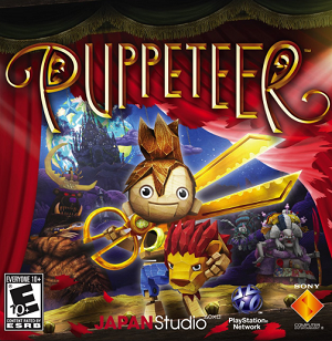 Puppeteer (video game) - Image: Puppeteer cover