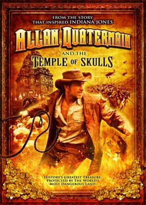 Allan Quatermain and the Temple of Skulls - US DVD cover