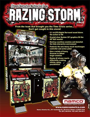 Razing Storm - Image: Razing Storm Flyer