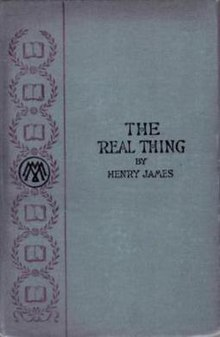 the real thing james
