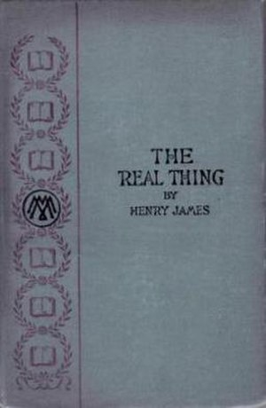 The Real Thing (story) - Image: Real Thing Henry James