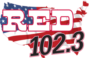 WCAT-FM - Image: Red 102.3 Logo