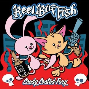 Candy Coated Fury - Image: Reel Big Fish Candy Coated Fury cover