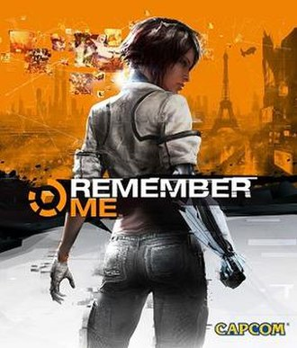 Remember Me (video game) - Box art featuring protagonist, Nilin