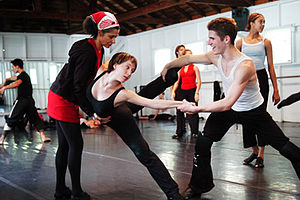 Jacob's Pillow Dance - Students of The School at Jacob's Pillow in rehearsal.