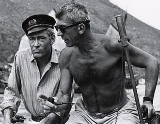 Richard Brooks - Brooks and Peter O'toole on Lord Jim set in Cambodia