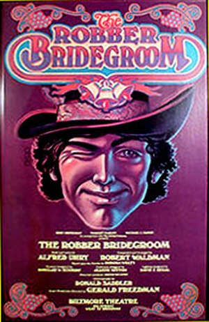 The Robber Bridegroom (musical) - original Broadway poster art