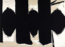 Robert Motherwell's 'Elegy to the Spanish Republic No. 110'.jpg