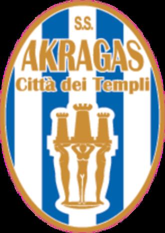 S.S. Akragas Città dei Templi - Image: SS Akragas