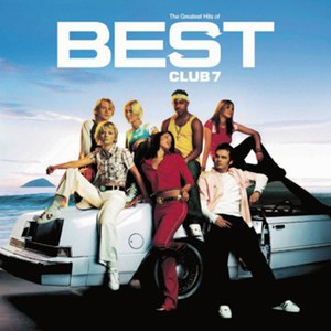 Best: The Greatest Hits of S Club 7 - Image: S Club Best (Album Cover)