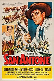 <i>San Antone</i> (film) 1953 American film by Joseph Kane