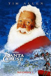 <i>The Santa Clause 2</i> 2002 film produced by Walt Disney Pictures