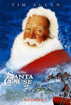 The Santa Clause 2 - Theatrical release poster