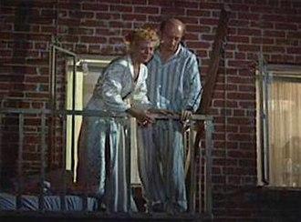Sara Berner - Berner with Frank Cady in Rear Window (1954)