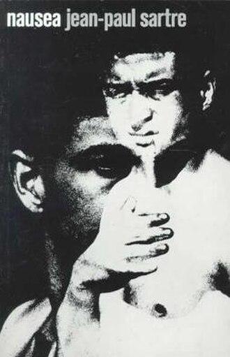 Nausea (novel) - Cover: 1964, 7th printing of Nausea; New Directions.