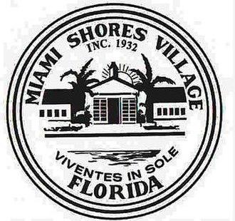 Miami Shores, Florida - Image: Seal of miami shores