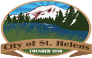 St. Helens, Oregon - Image: Seal of st helens OR