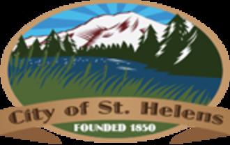 St. Helens, Oregon - Image: Seal of st helens OR