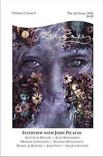 <i>Shimmer Magazine</i> Speculative fiction magazine