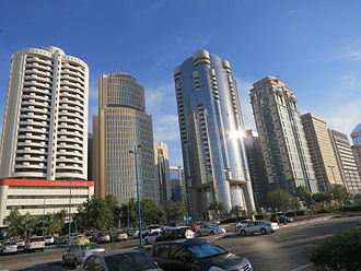 Silver Tower (Abu Dhabi) - The Silver Tower in Abu Dhabi