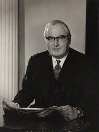 Reginald Manningham-Buller, 1st Viscount Dilhorne - Manningham-Buller in 1961.