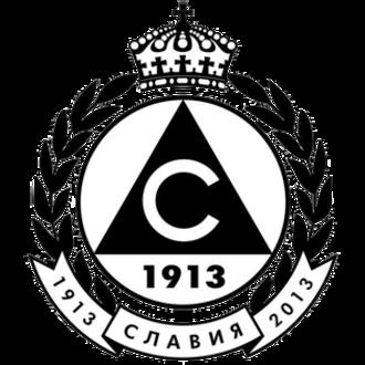 PFC Slavia Sofia - Image: Slavia logo 2012 13