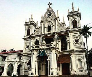 Siolim Town in Goa, India