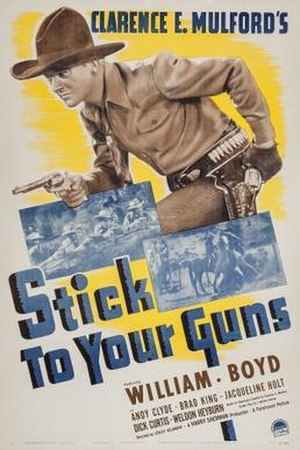 Stick to Your Guns (film) - Theatrical release poster