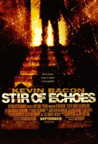 Stir of Echoes - Theatrical release poster