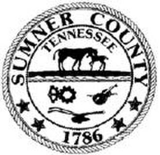 Sumner County, Tennessee - Image: Sumner TN seal