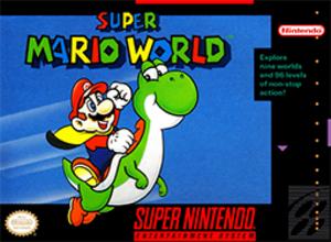 Super Mario World - North American boxart