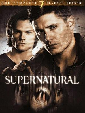 Supernatural (season 7) - DVD cover art
