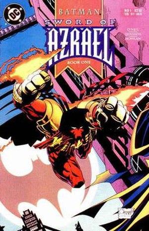 Azrael (comics) - Image: Swordazrael 1