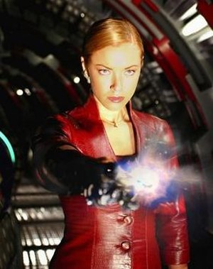 T-X - The T-X, played by Kristanna Loken