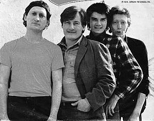 The Motors - The Motors: Andy McMaster, Nick Garvey, Ricky Slaughter (Richard Wernham), Bram Tchaikovsky (Peter Bramall)