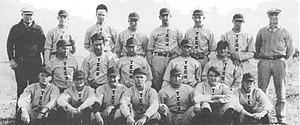 Texas Tech Red Raiders baseball - The inaugural 1926 Texas Tech baseball team.