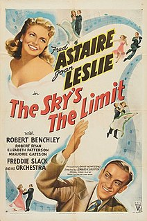 <i>The Skys the Limit</i> (1943 film) 1943 film by Edward H. Griffith