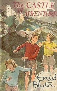 <i>The Castle of Adventure</i> novel by Enid Blyton