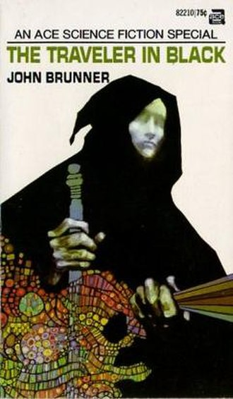 The Traveller in Black - First edition Cover art by Leo and Diane Dillon