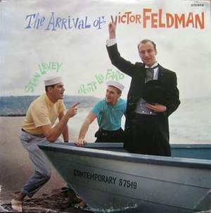 The Arrival of Victor Feldman - Image: The Arrival of Victor Feldman