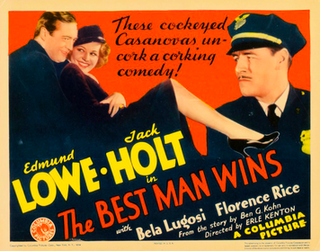 <i>The Best Man Wins</i> (1935 film) 1935 American crime film directed by Erle C. Kenton
