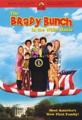 The Brady Bunch in the White House - The Brady Bunch in the White House DVD cover