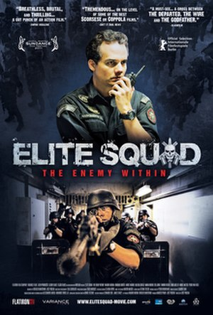 Elite Squad: The Enemy Within - Theatrical release poster